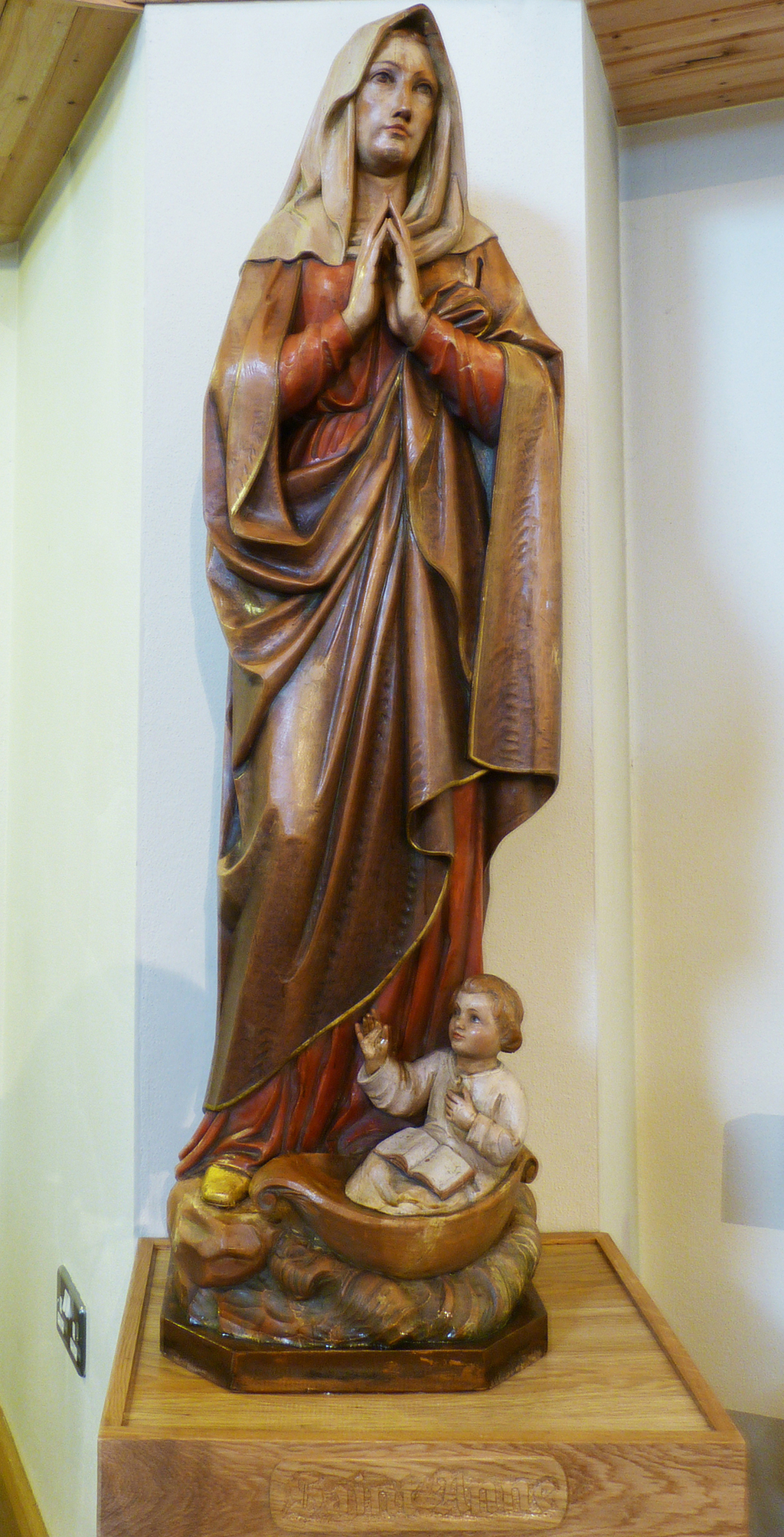 Statue of Saint Anne